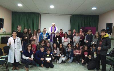 CELEBRACIÓN DE ENVÍO de los  DELEGADOS DE PASTORAL en Salesianos La Almunia