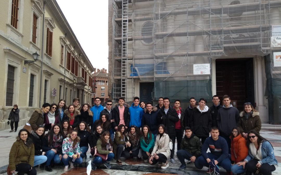 Visita a Zaragoza, 2º Bachillerato