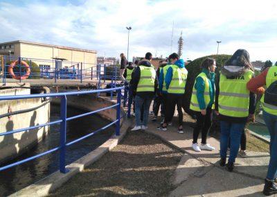 Visita a la Depuradora de Zaragoza (1)