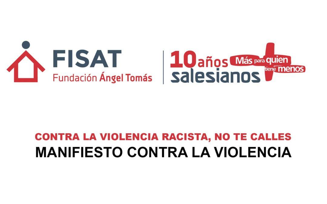 SALESIANOS CONTRA LA VIOLENCIA RACISTA